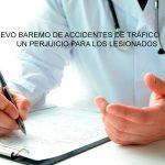 El nuevo baremo de accidentes de tráfico un perjuicio para los lesionados
